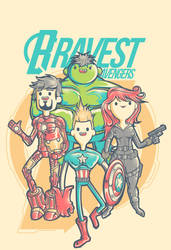 Bravest Avengers by jml2art