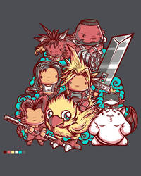 Cute Fantasy VII by jml2art