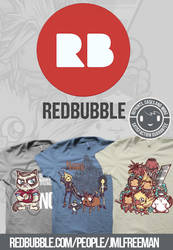 cool shirts redbubble ad by jml2art