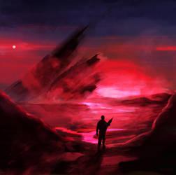 Brutal Sunset by forgedOrder