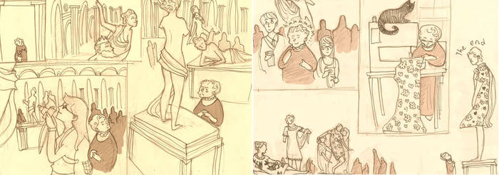 Random comic by Clichepansy