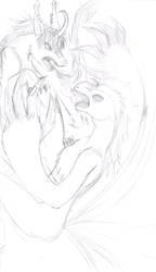 Unfinished: ShowBattle My Fursona VS. Ving by roxasgirl1803