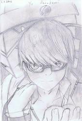 Persona 4: Yu Narukami by roxasgirl1803