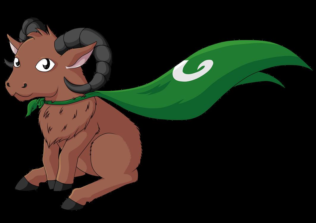 Mascot (Mighty Mufflon Games) by roxasgirl1803