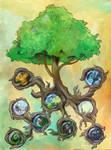 Yggdrasil by fenix42