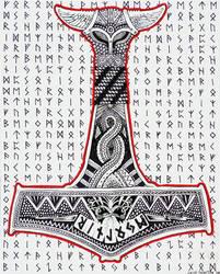 Thor's Hammer - Mjolnir by fenix42