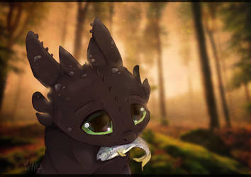 Toothless by wikiio