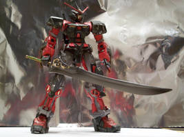 Karasu Gundam w Auron Sword 2 by RedKARASU