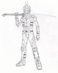 Kamen Rider Kaze by RedKARASU