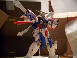 Burning Gundam 1 by RedKARASU