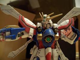 Burning Gundam 2 by RedKARASU