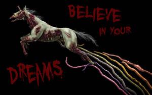 Zombie Unicorn A Go Go by s-h-a-n-k-s