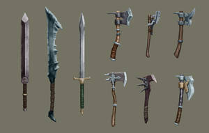 Weapons Revise by s-h-a-n-k-s