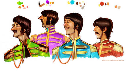 Fab Four study by soul71
