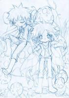 random sketch... 22 by sureya