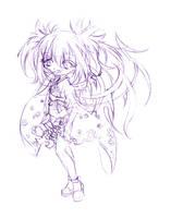 fate... sketch by sureya