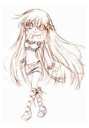 venus goth... sketch by sureya