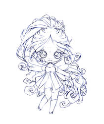 alyra... sketch by sureya