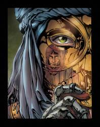 The secret of the golden mask by VincenzoMercogliano