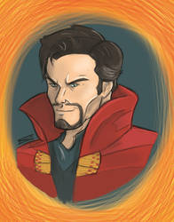 Doctor Strange by santi17