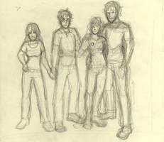 HP Quartet by Melleh17