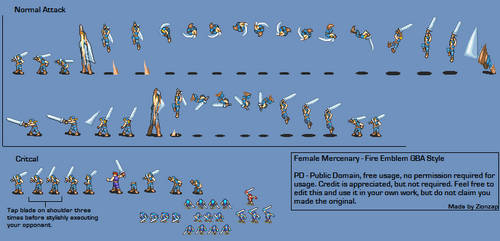 Female Mercenary v5 by Zionzap