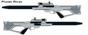 Phaser rifles Nemesis by bagera3005