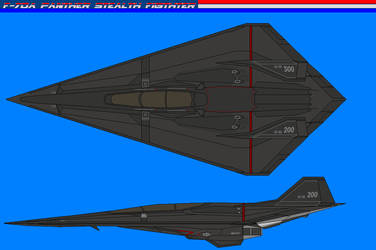 F-70A JSF stealth fighter by bagera3005