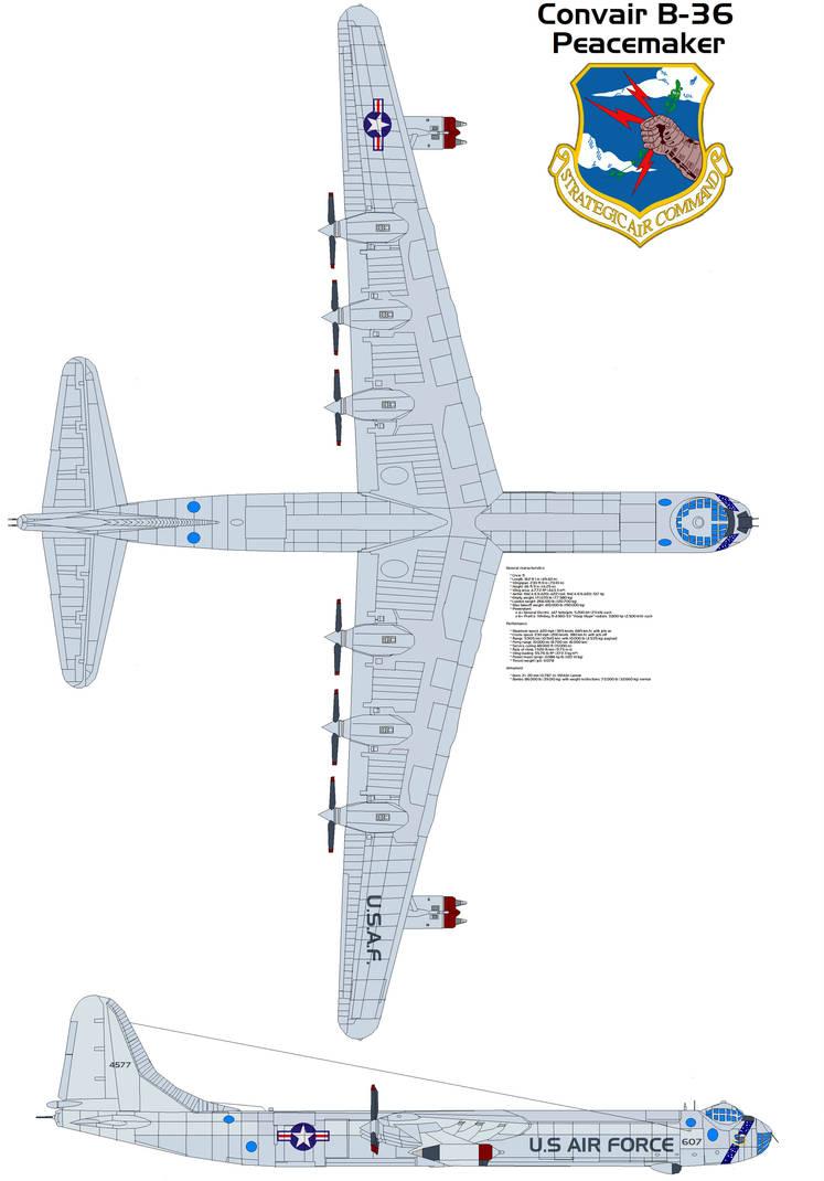 Convair XB46 jet 4659 t AircraftExperimental