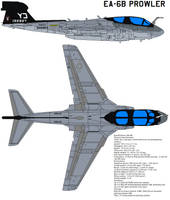 EA-6B Prowler by bagera3005