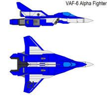 VAF-6 Alpha Fighter blue by bagera3005