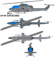 Bell AH-1W SuperCobra by bagera3005