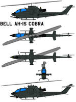 Bell AH-1S Cobra by bagera3005