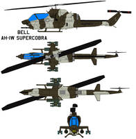 The Bell AH-1W SuperCobra USMC by bagera3005