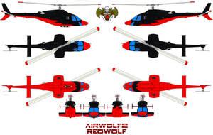 AIRWOLF2 redwolf by bagera3005