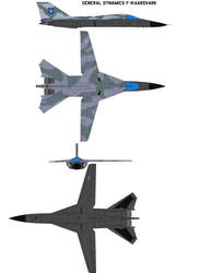General Dynamics F-111 by bagera3005
