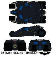 batman begins Tumbler by bagera3005