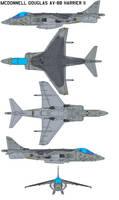McDonnell Douglas AV-8B by bagera3005