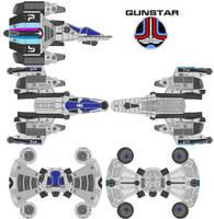 GUNSTAR by bagera3005