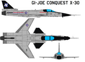 GI-joe Conquest X-30 by bagera3005