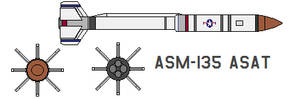 ASM-135 ASAT by bagera3005