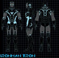 ironman tron by bagera3005