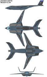Lockheed Martin MEDUSA kc-124 by bagera3005
