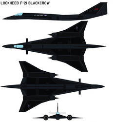 Lockheed yf-21 black crow by bagera3005