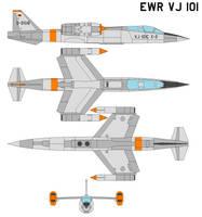 EWR VJ 101 by bagera3005