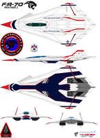 Lockheed  fa-70  Panther 2  thunderbirds by bagera3005