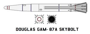 Douglas GAM-87A Skybolt by bagera3005