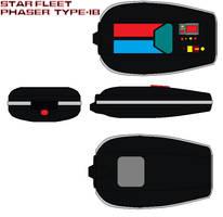 Star fleet Phaser  Type-IB by bagera3005