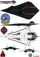 Lockheed  EF-70 Panther Gunfighters VF-124 by bagera3005