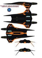 TALON2 XF-450 blindsight uss atlantis by bagera3005